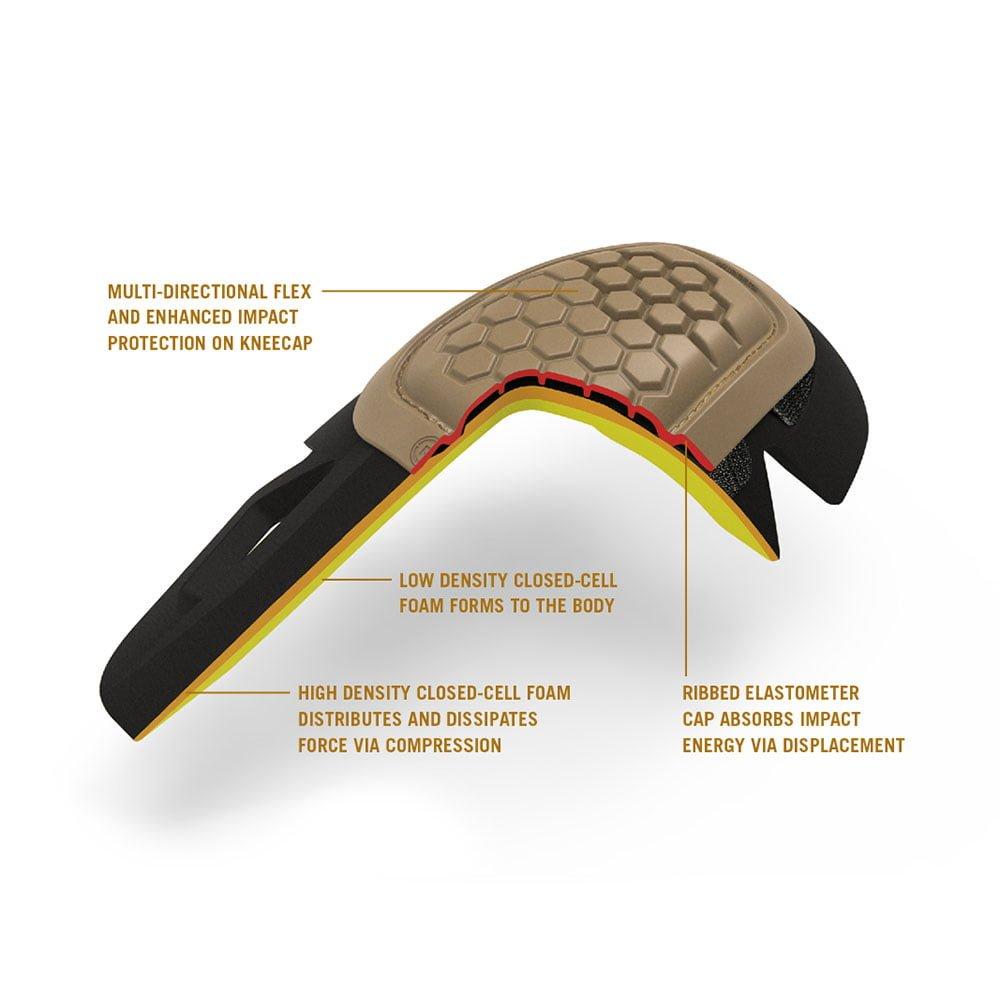 AirFlex Combat Knee Pads Khaki Tan Crye Precision